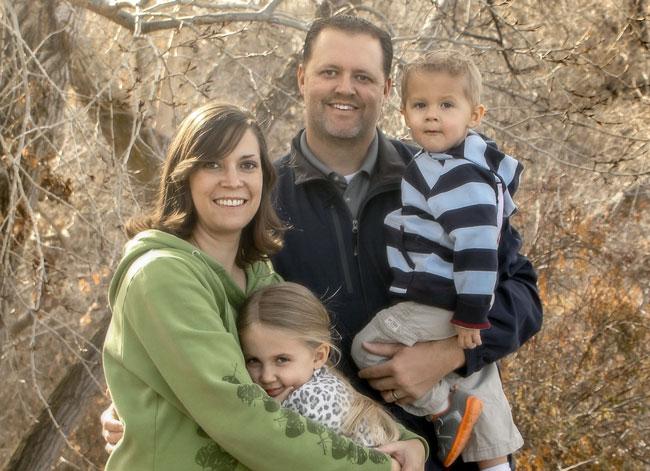 Brad Laing family